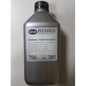 Тонер Brother Handan HG 391